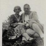 1 Foto Rudolf Helm und Frau 1937